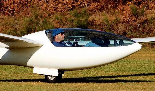 Fluglehrer Jörg Klingauf