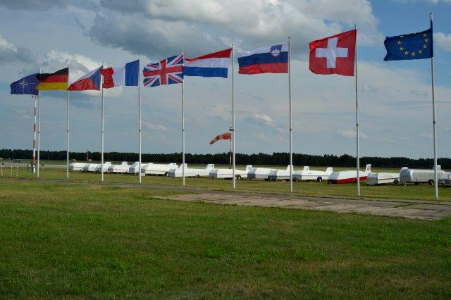 Teilnehmer aus sieben Ländern waren dabei
