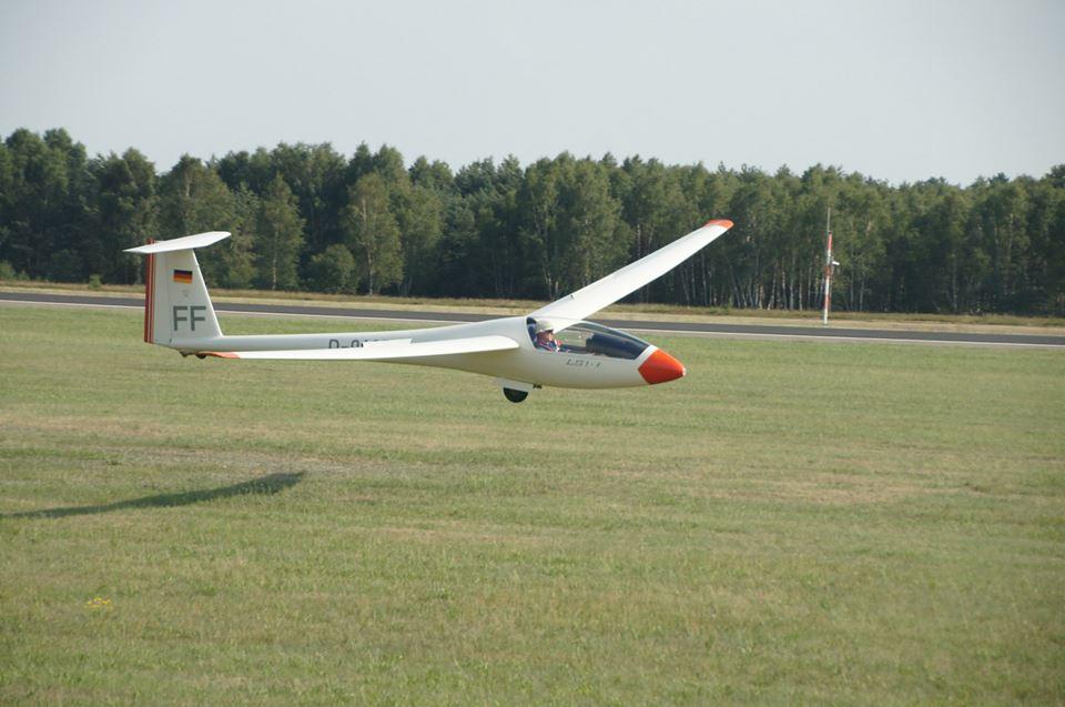... und anschließender Landung