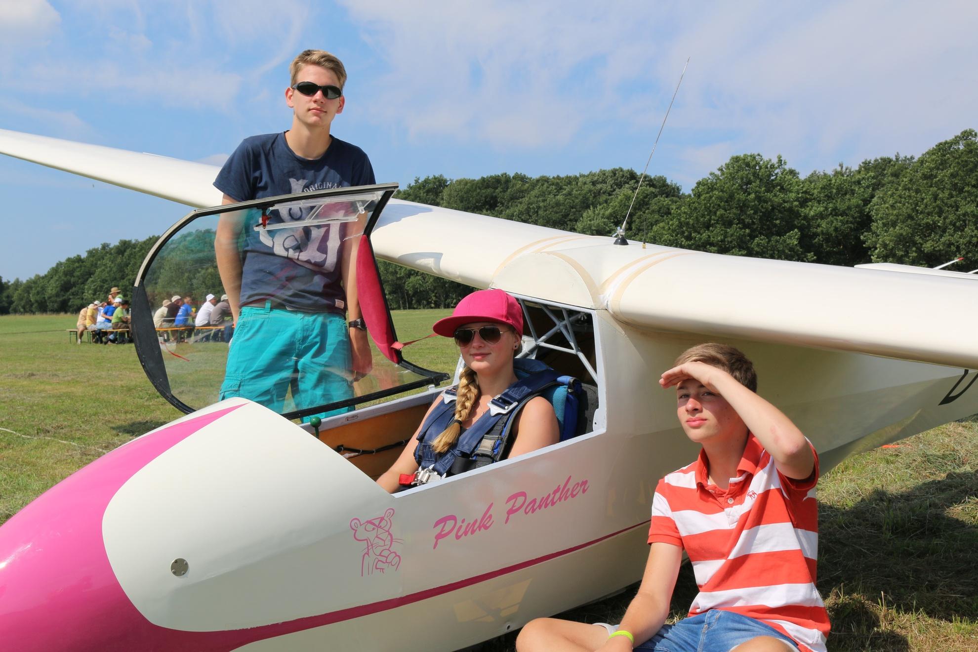 Die SFC-Rookies Ja-Philipp, Laura und Niklas hatten vor allem Spaß