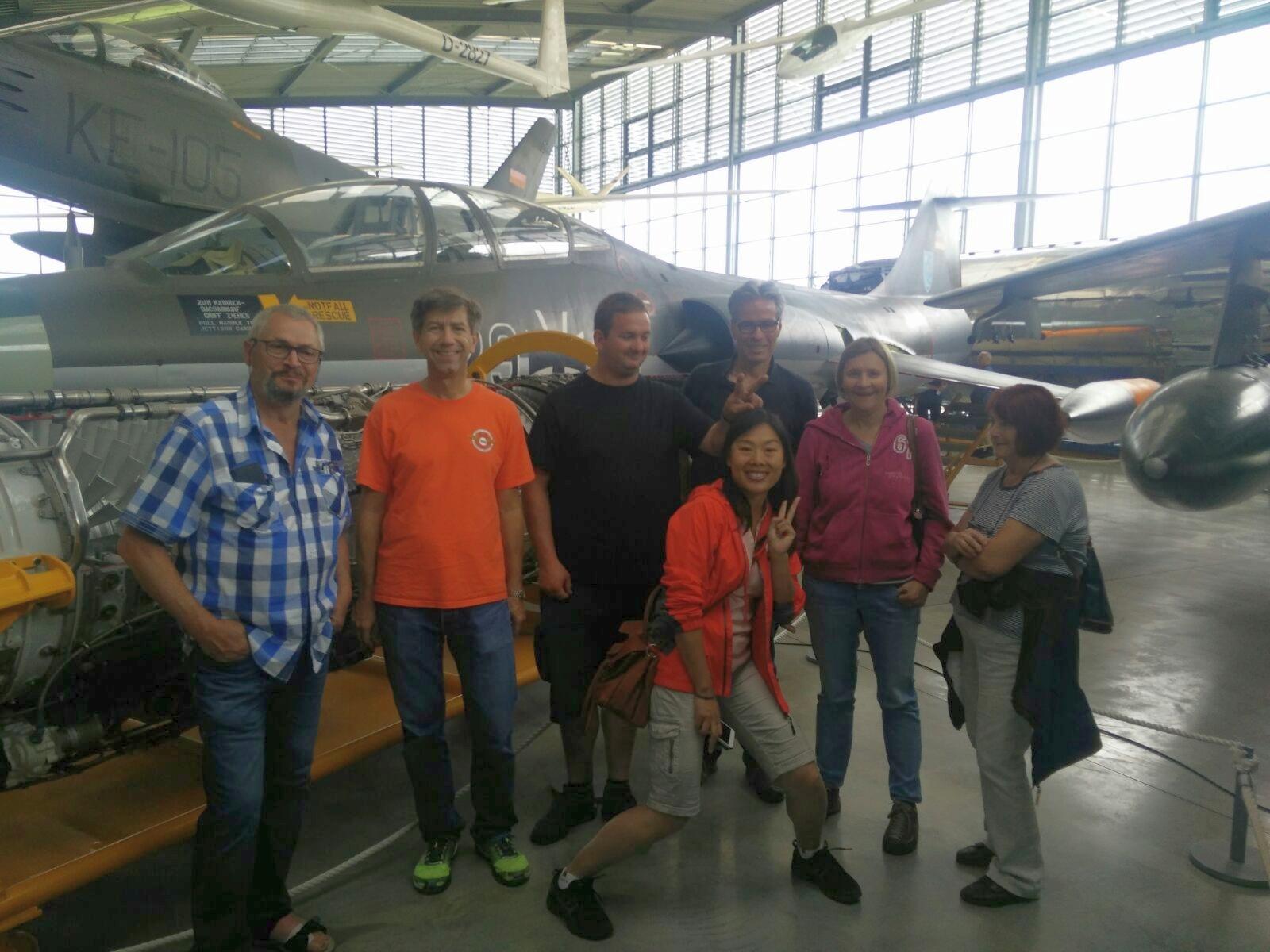Der SFC in der Flugwerft Oberschleißheim