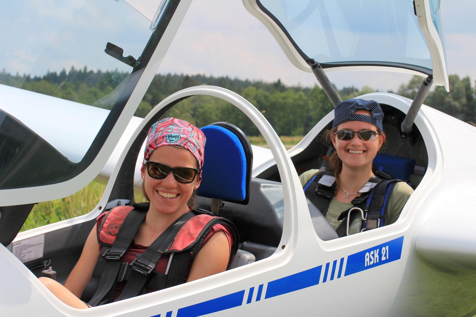 Mädels auf Tour - Katharina und Isi wollen in die Berge